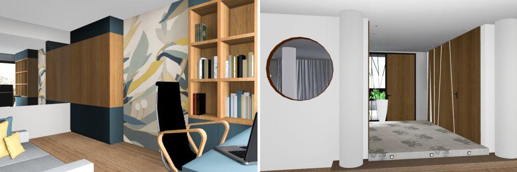 bureur 3D architecture intérieure chambéry