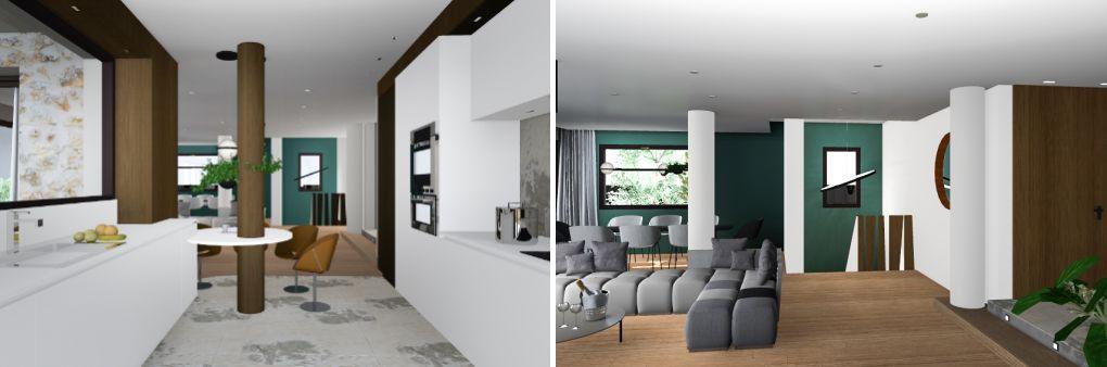 salon 3D architecture intérieure chambéry